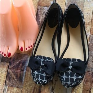 Kate Spade ♠️ Polka Dot Flats Size 10 M